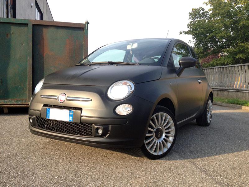 Fiat 500 Opaca Decorazioni Automezzi