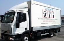 Adesivo prespaziato per furgone