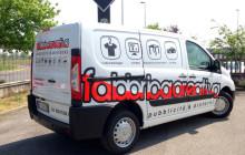 Decorazione furgone Peugeot Expert